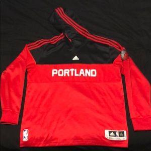 Adidas Portland Trail Blazers hoodie
